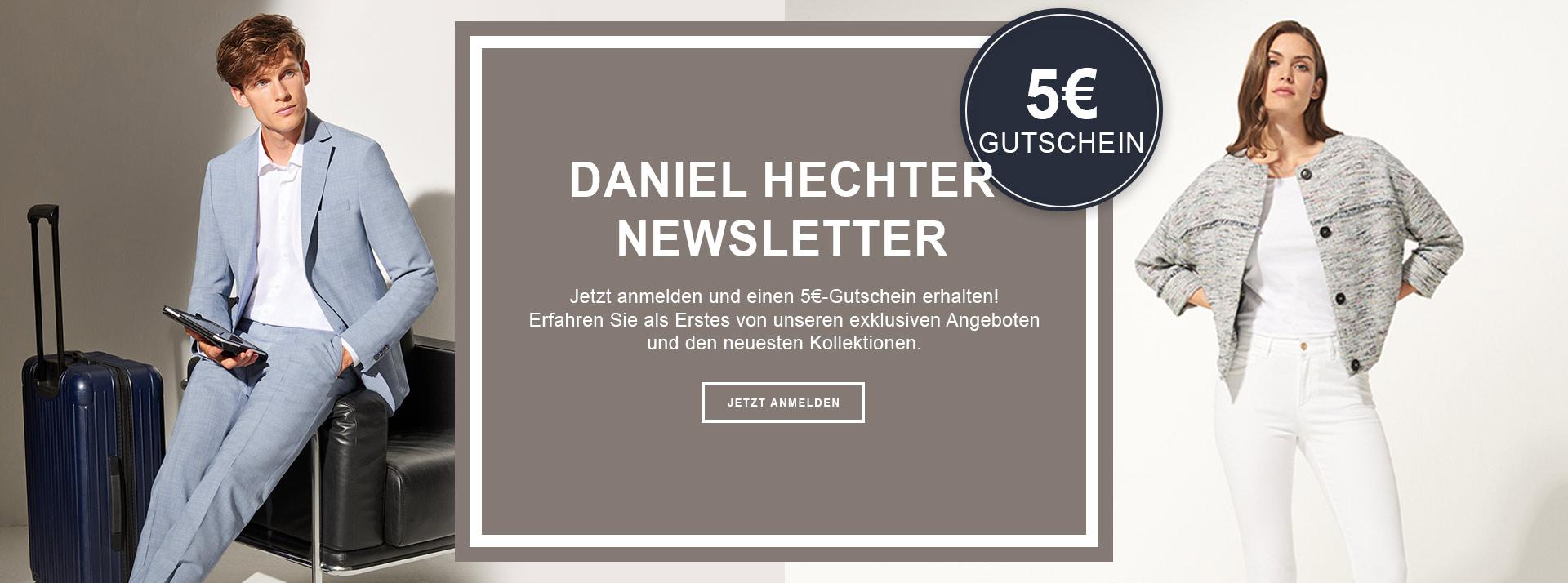 Newsletteranmeldung Daniel Hechter