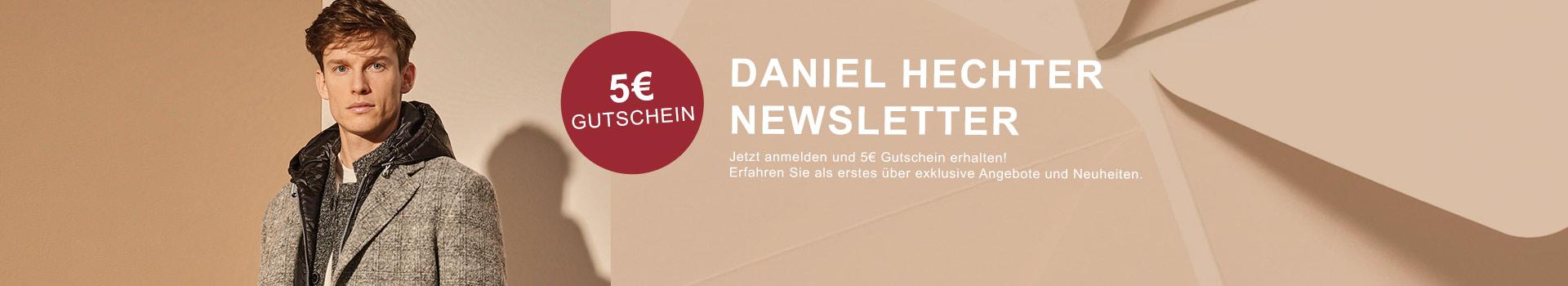 Erhalte 5€ Rabatt bei Newsletter Anmeldung
