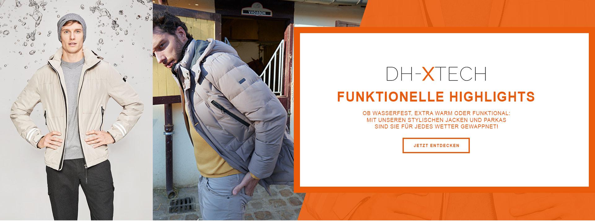 Stylische Jacken und Parkas von Daniel Hechter