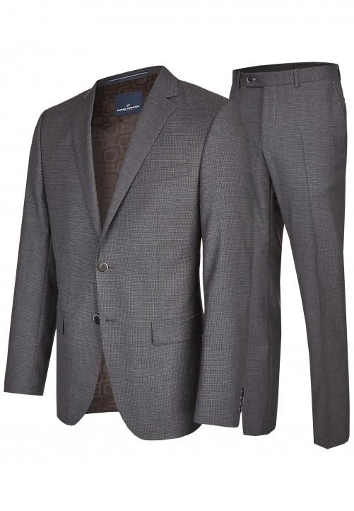 Klassischer City Anzug, graphite