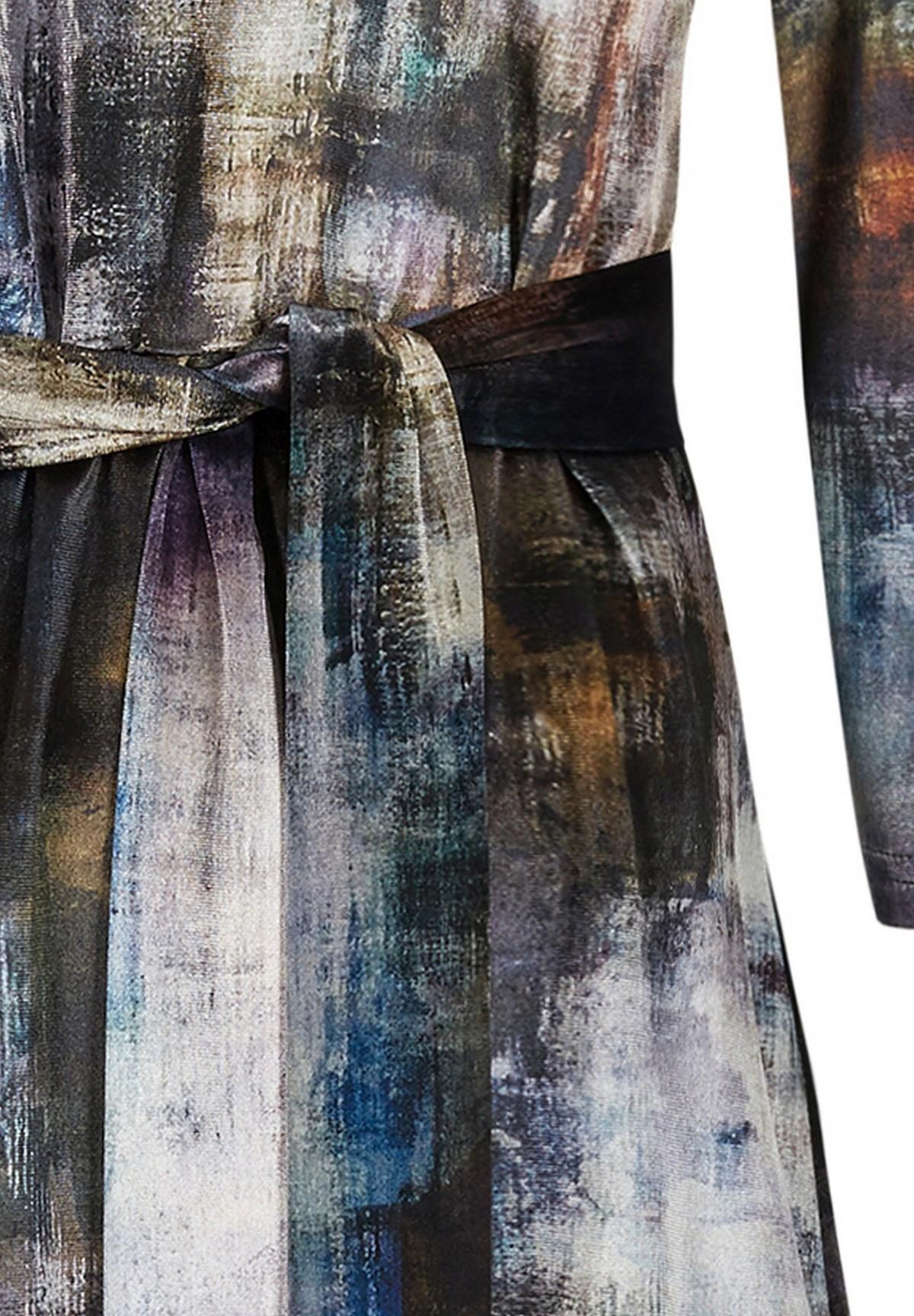 Robe motif graphique /