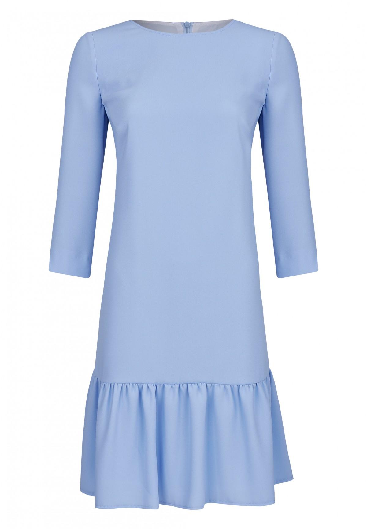 Modernes Kleid mit geradem Schnitt / Dress
