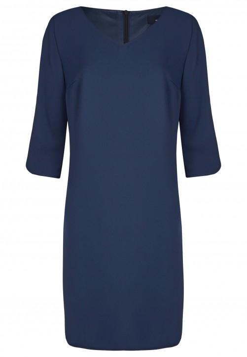 Klassisches Kleid, midnight blue