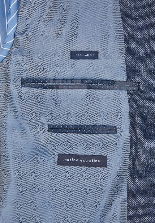 Elegant sportives Sakko, dark blue