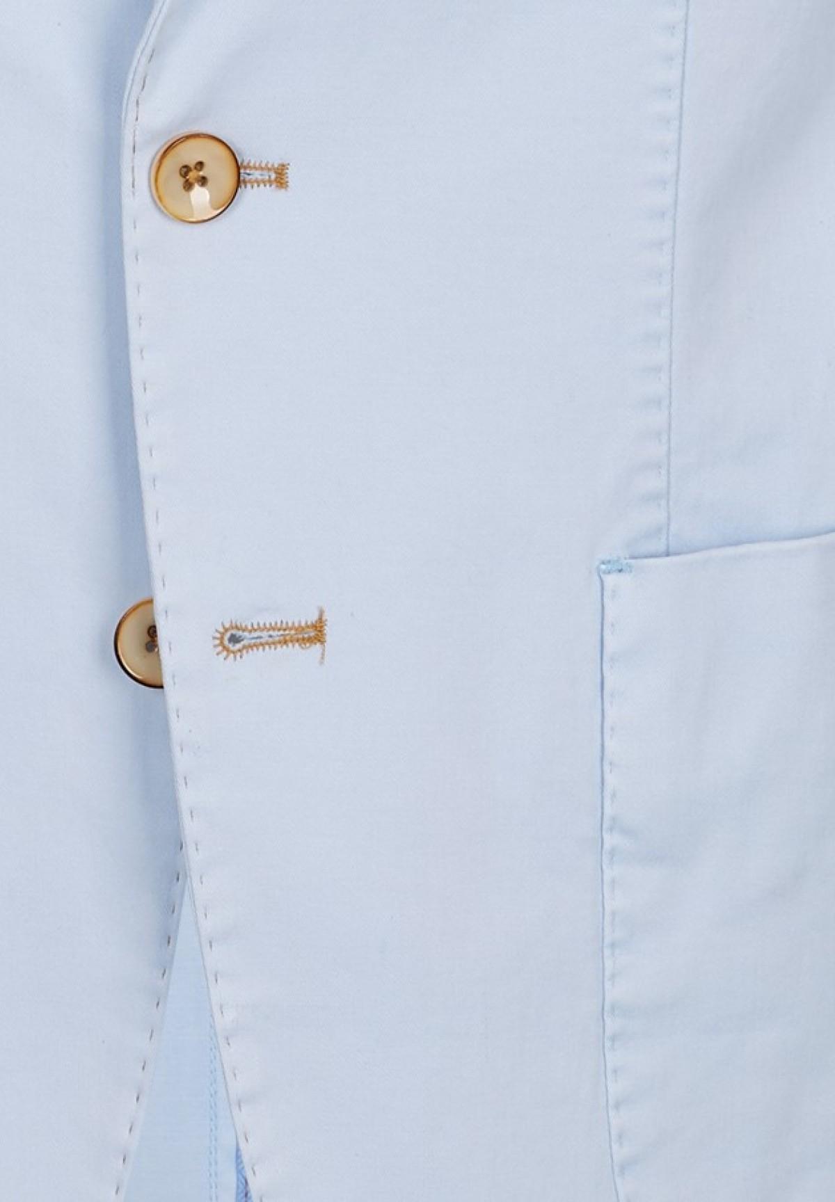 Veste demi-doublée 2 boutons /