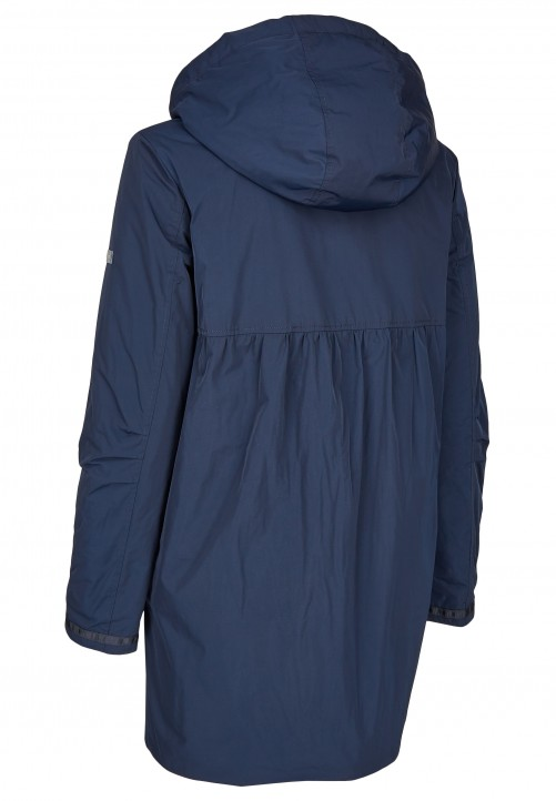 Padded Coat, midnight blue