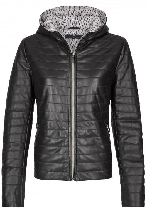 Leather Jacket, black