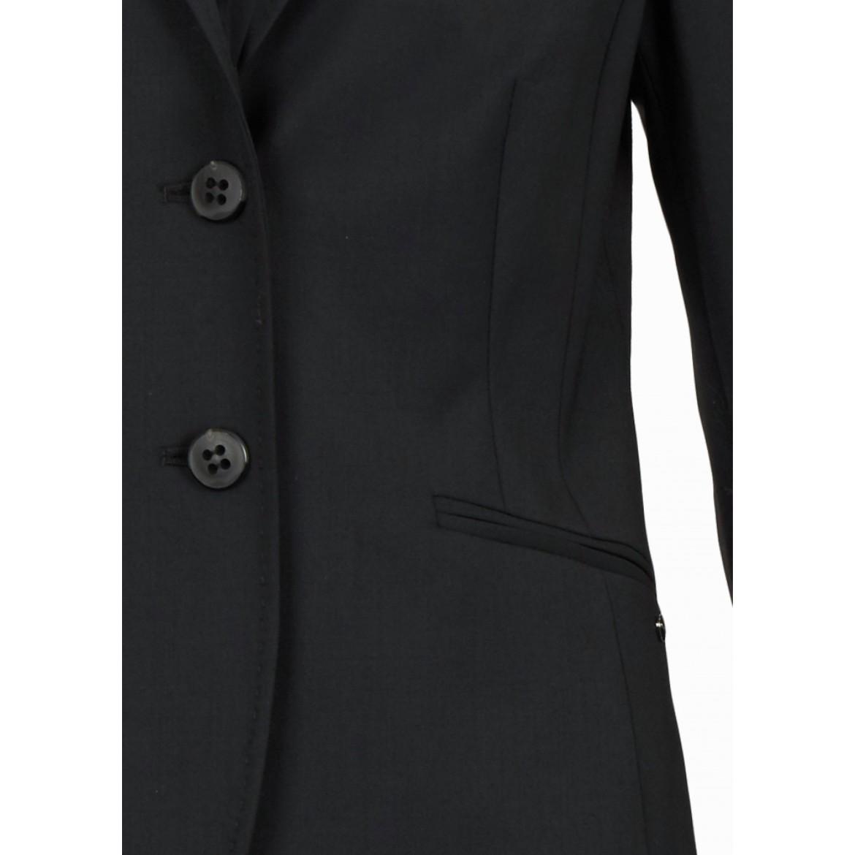 Veste femme en laines mélangées - Noir  70456a52fb13
