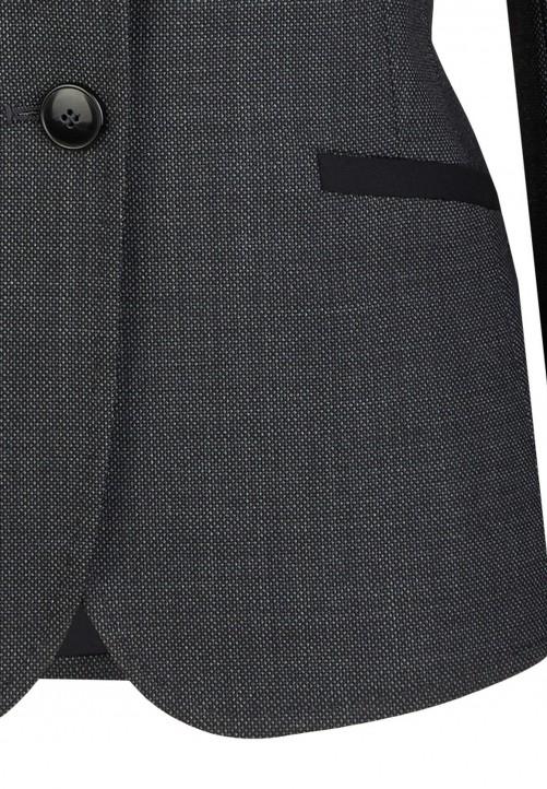 Eleganter Woll-Blazer, anthrazit