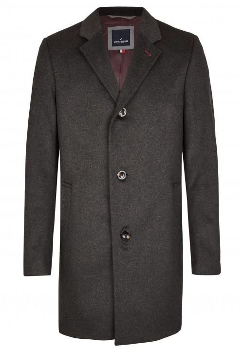 Klassischer Mantel, anthracite