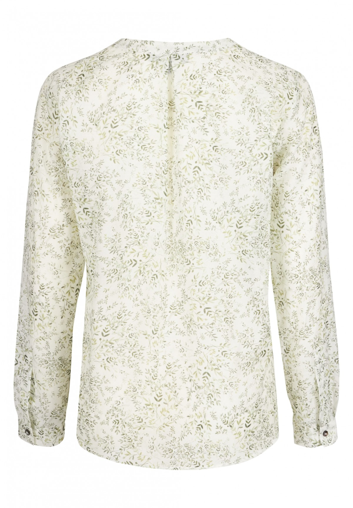 Bluse mit grafischem Muster / Bluse