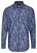 Freizeithemd mit floralem Muster