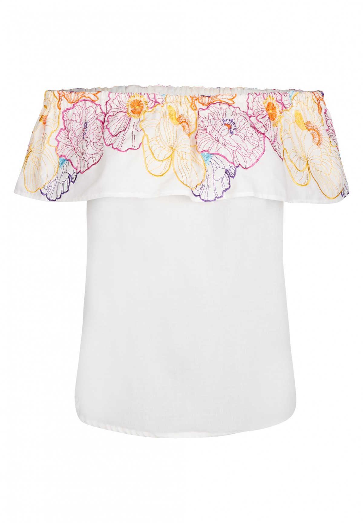 Sommerliche Carmenbluse / Off Shoulder Blouse