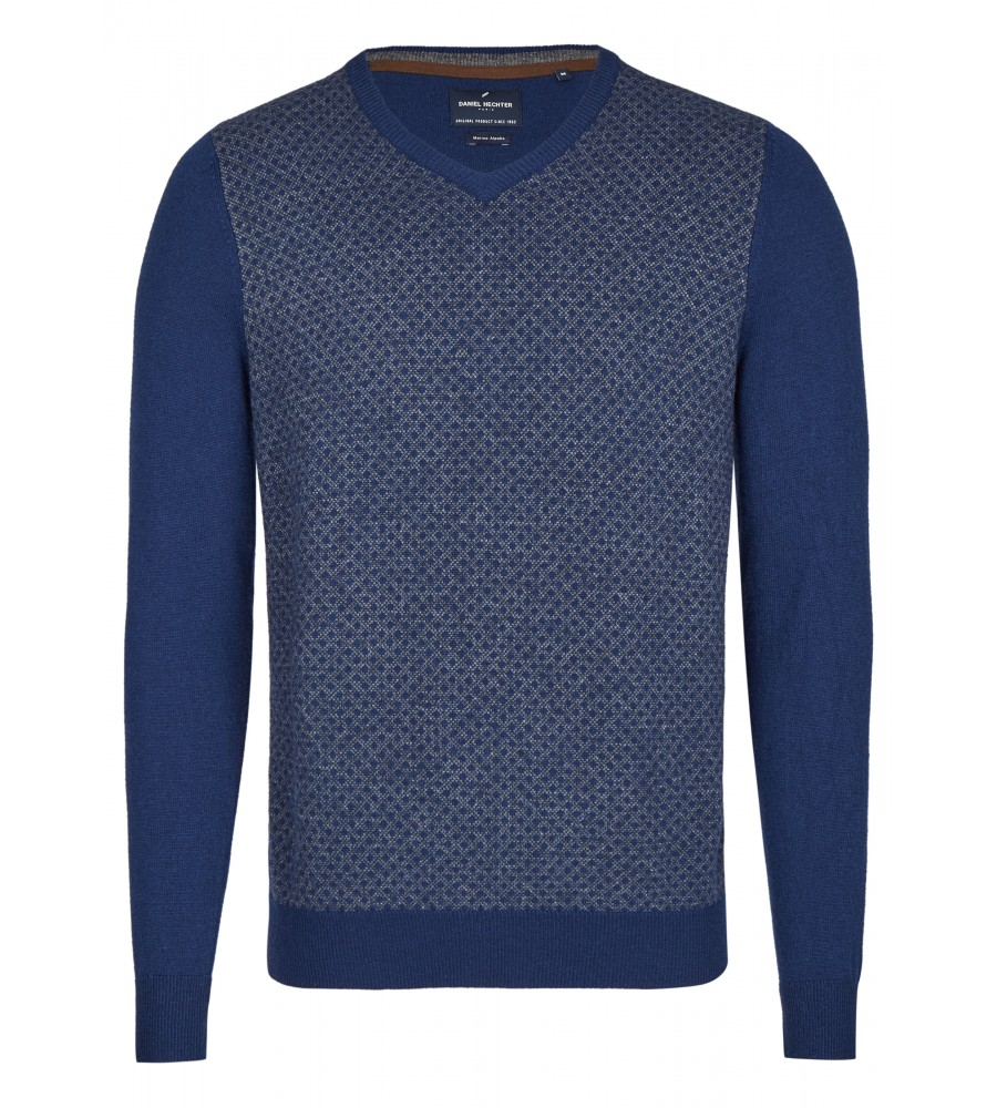 daniel hechter - Pullover mit V-Ausschnitt