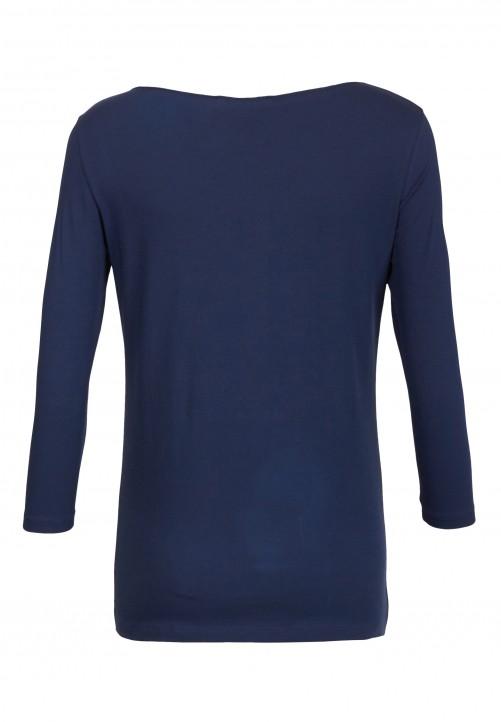 T-Shirt, nachtblau