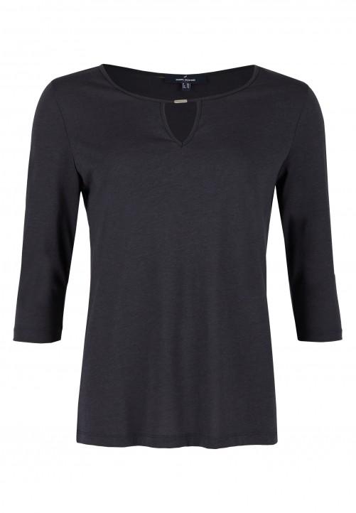 Shirt, nachtblau