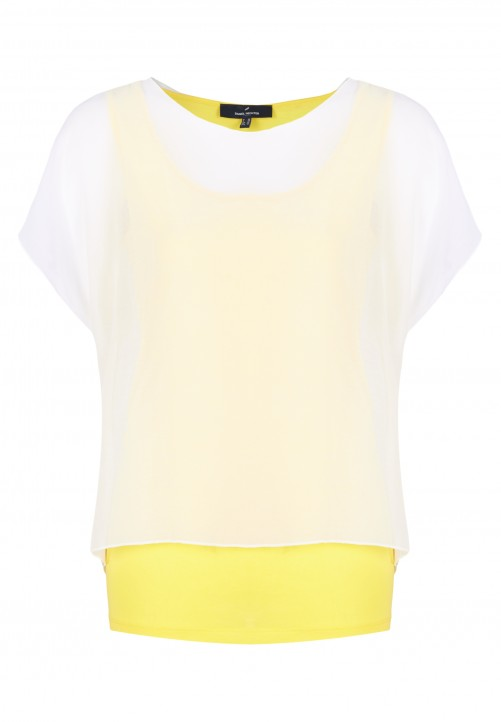 Shirt, gelb