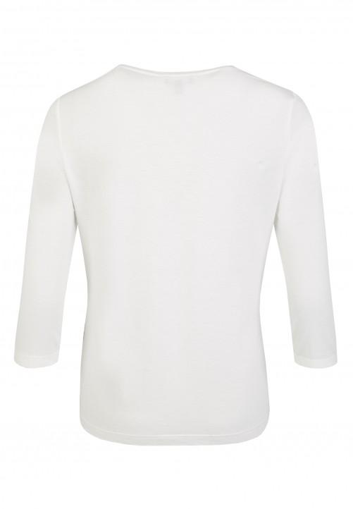 Bedrucktes Shirt, lila