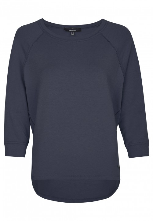 Casual Jersey-Shirt, midnight blue