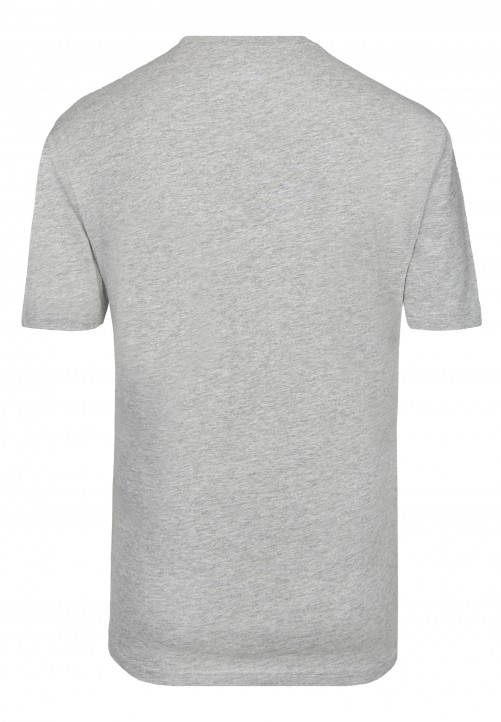 T-Shirt Rundhals Regular-fit, silver