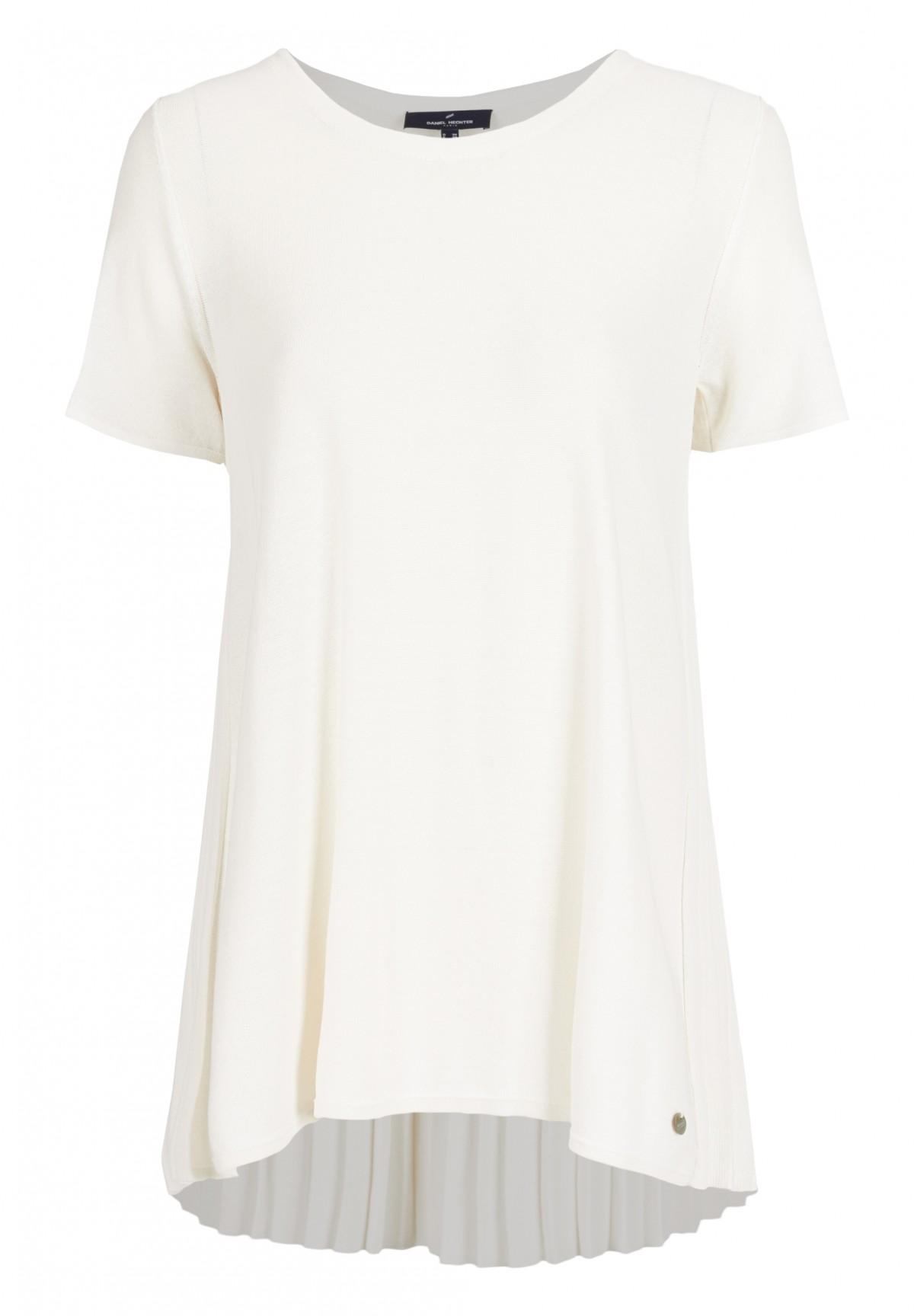 Kurzarm-Pullover in schlichtem Design / Strick