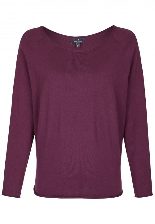 Modischer Pullover, purple