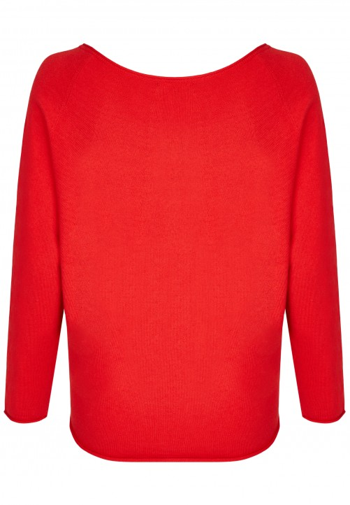 Modischer Pullover, chilli