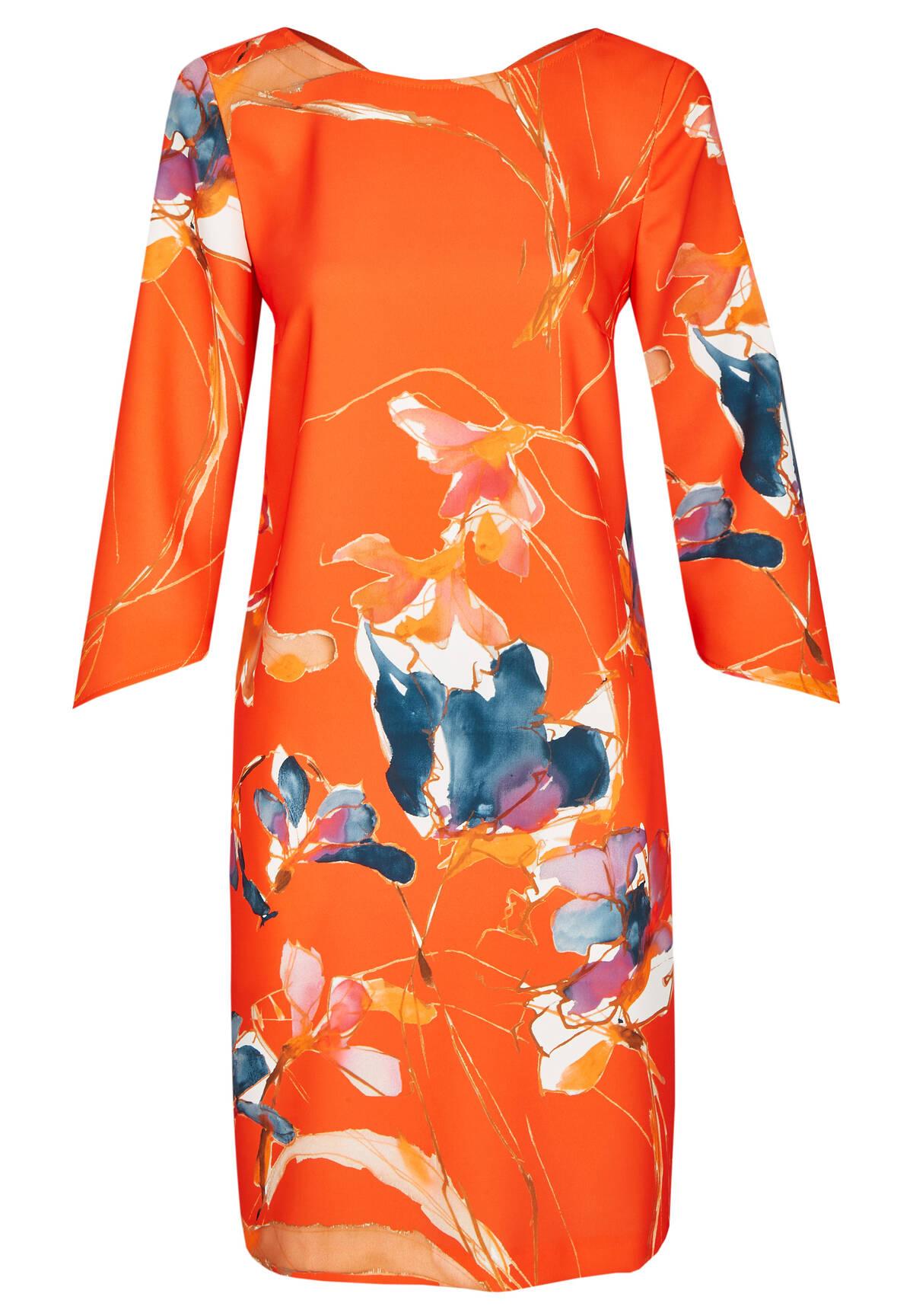 Sommerliches Kleid im floralen Design / Dress