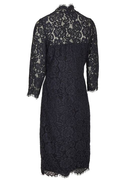 Lace dress, midnight blue