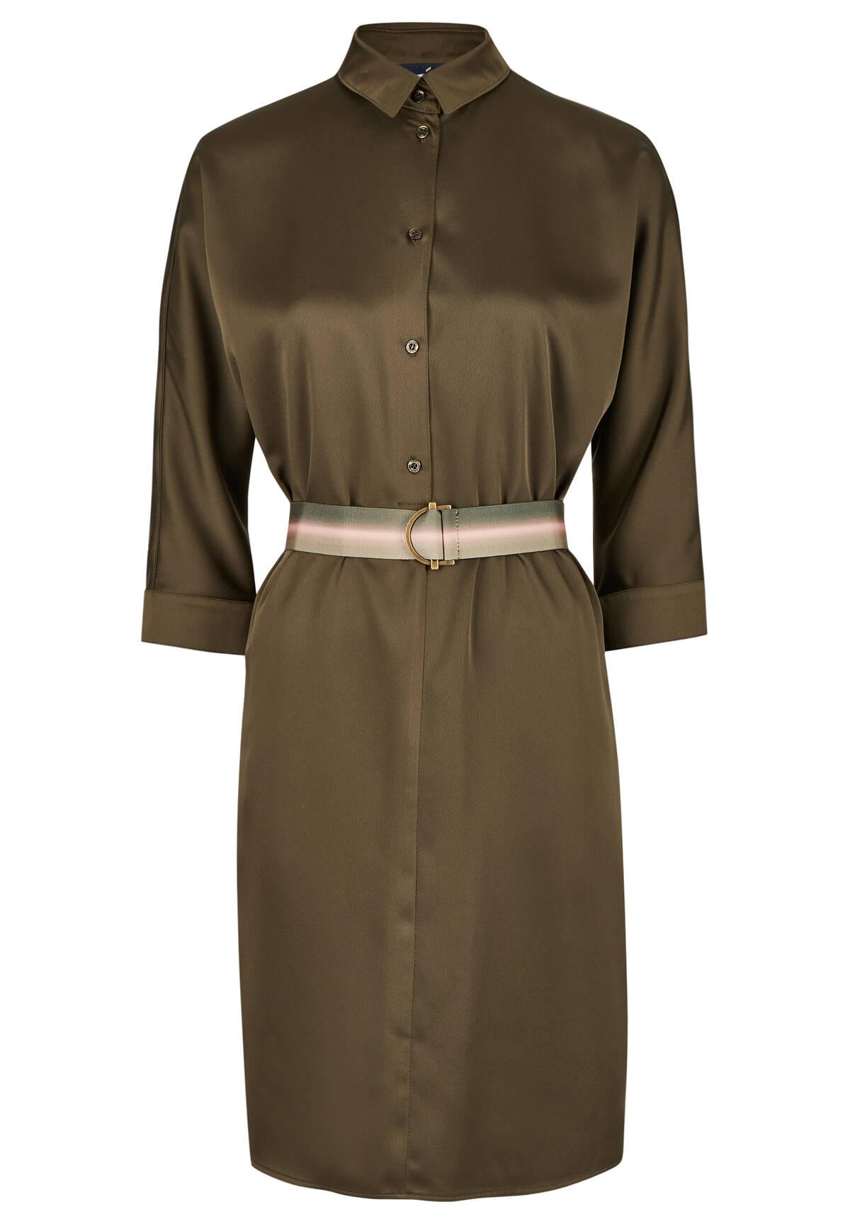 Modisches Kleid mit Gürtel / Dress