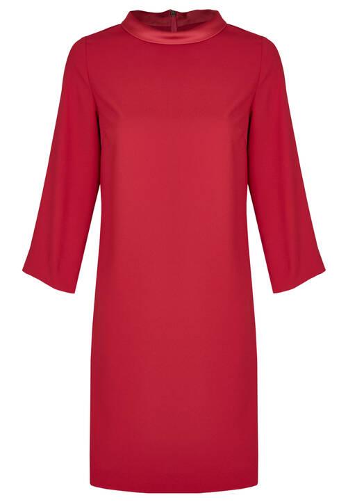Dress, cranberry
