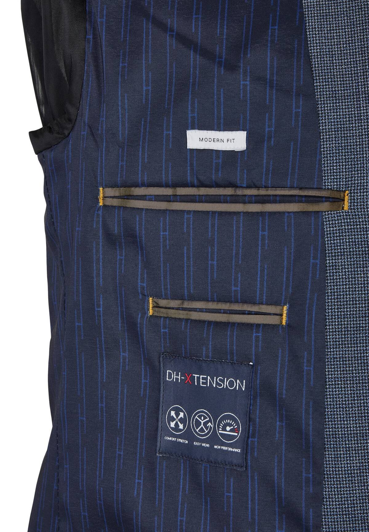 DH-XTENSION Modern Fit Anzug Sakko / DH-XTENSION Modern Fit Anzug Sakko