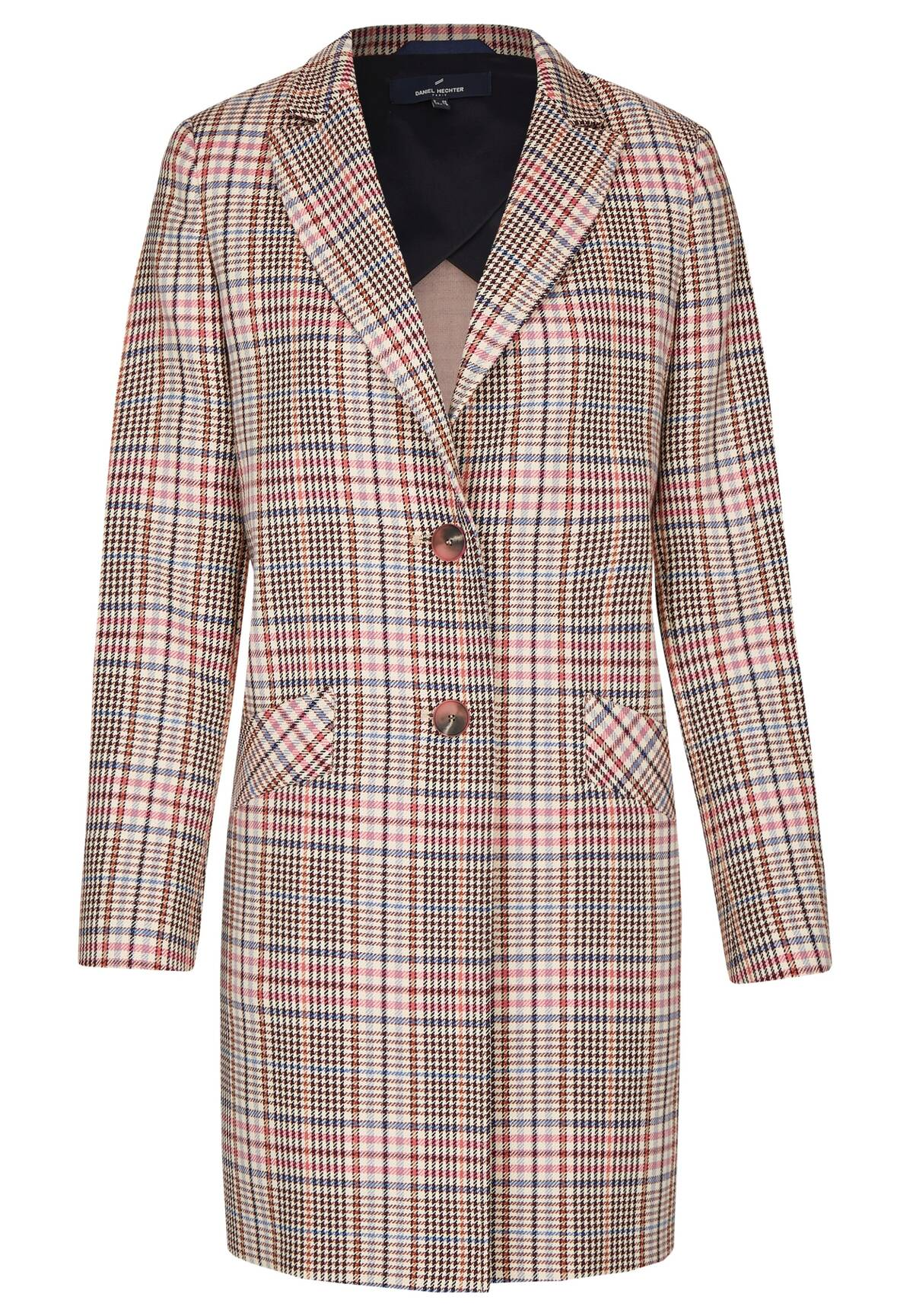 Modischer Mantel / Check Coat
