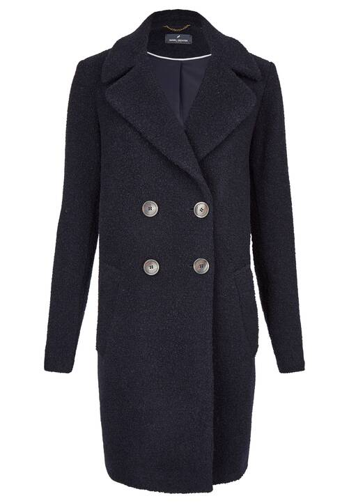 Cozy Coat, midnight blue