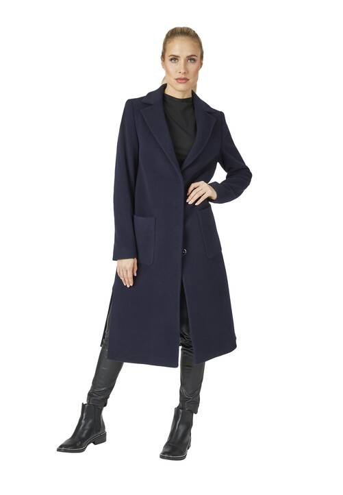 Coat, navy