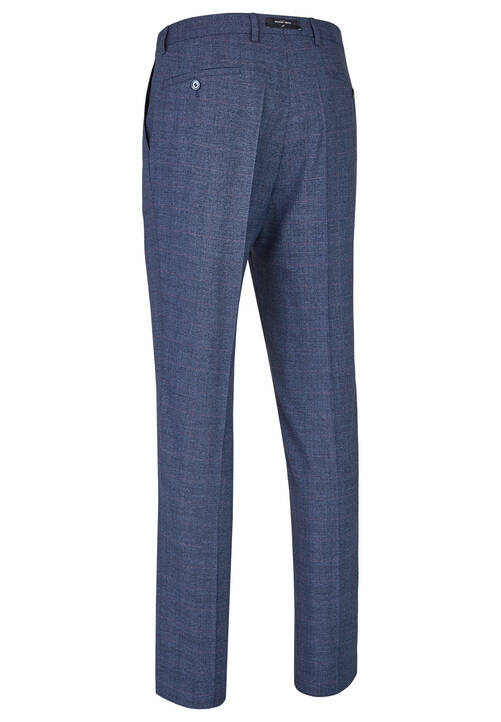 TROUSERS SHAPE DH-X, steel blue