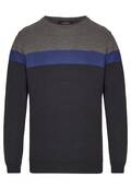 Pull en maille tricolor DH ECO