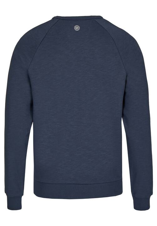 CREW NECK, midnight blue