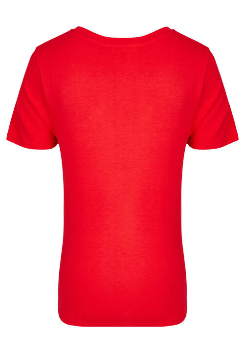V-Neck Shirt, red
