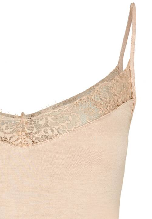 Lace Top, dusty rose