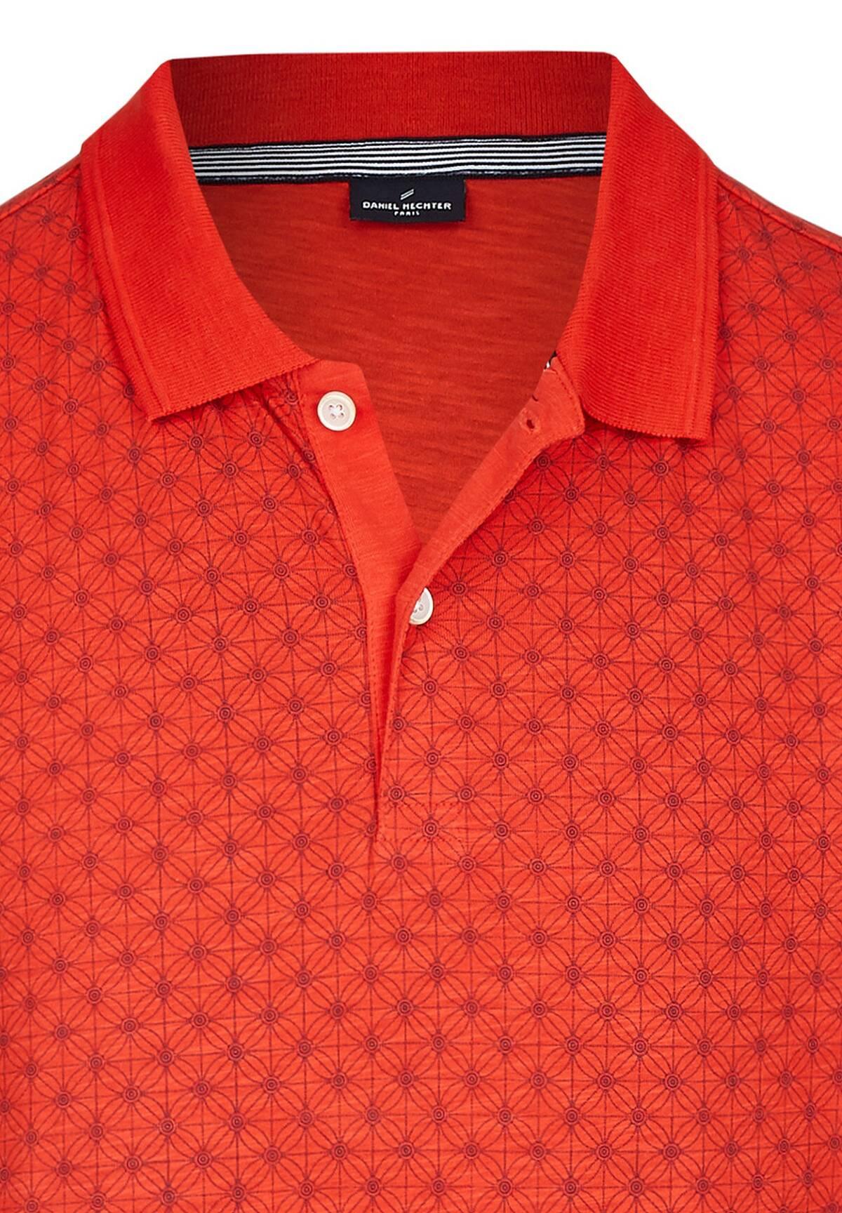 Grafik Polo Shirt / POLO JERSEY WASHED