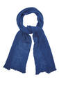 Scarf, midnight blue